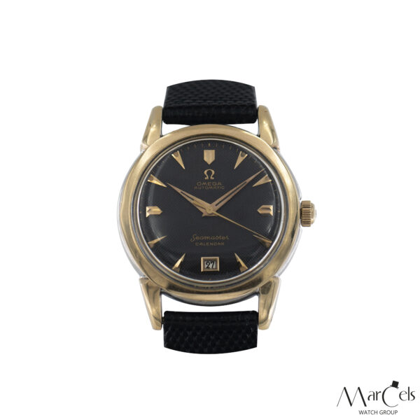 0749_vintage_watch_omega_seamaster_calender_honeycomd_dial_01