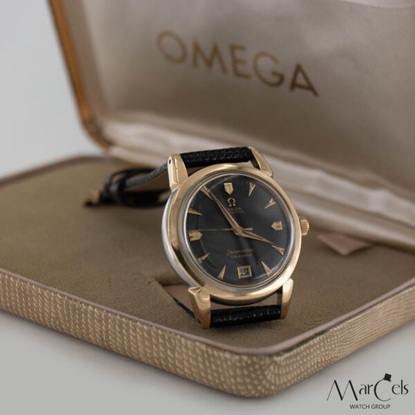 0749_vintage_watch_omega_seamaster_calender_honeycomd_dial_05