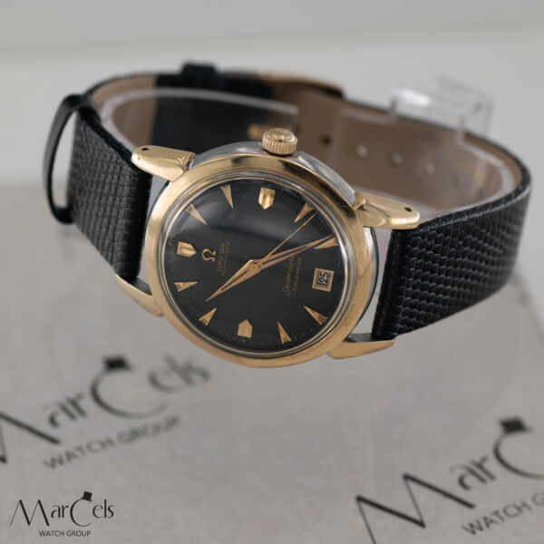 0749_vintage_watch_omega_seamaster_calender_honeycomd_dial_15
