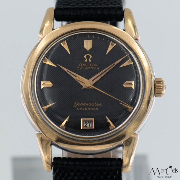 0749_vintage_watch_omega_seamaster_calender_honeycomd_dial_16